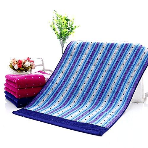 3 PCS Pure Egyption Cotton Collection Pastel Mint Bordered Design 100% Authentic Cotton Towels