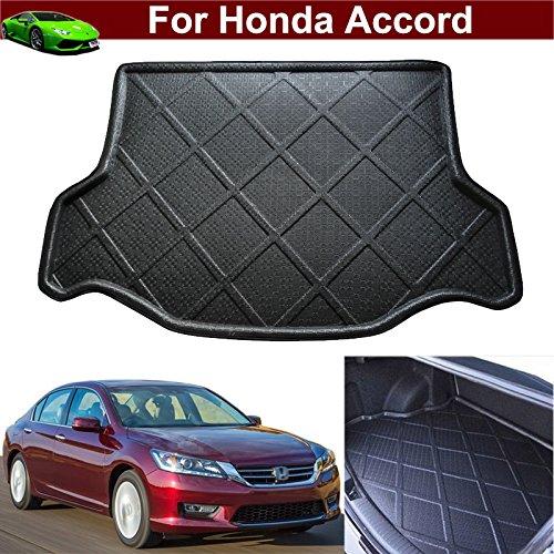 Liner Trunk Honda (Kaitian Car Boot Pad Cargo Mat Tray Trunk Liner Tray Floor Mat For Honda Accord 2013 2014 2015 2016 2017 2018 (not fit for Sport model))