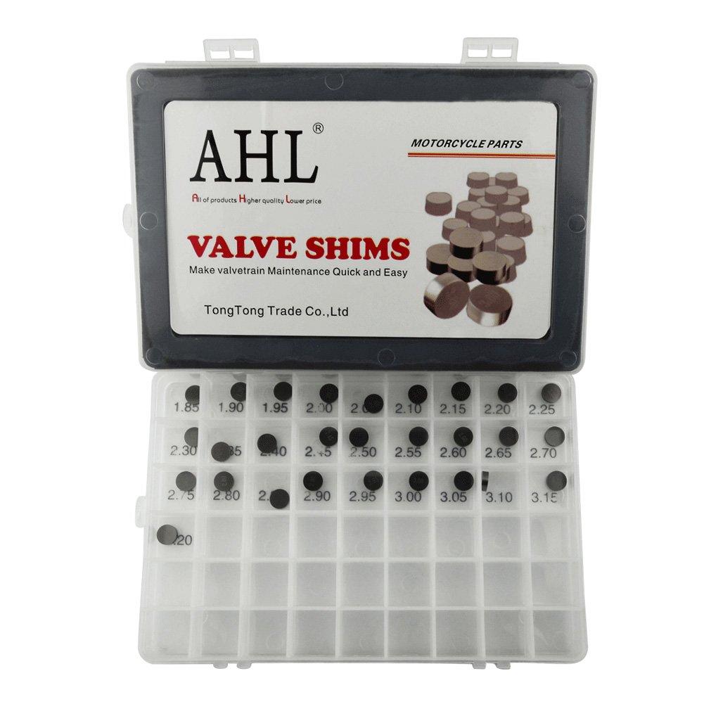 AHL- Set 28pcs 10 mm Moto Pastiglie di reglaje Valve Shim Kit per 990 Adventure 2007 –  2013