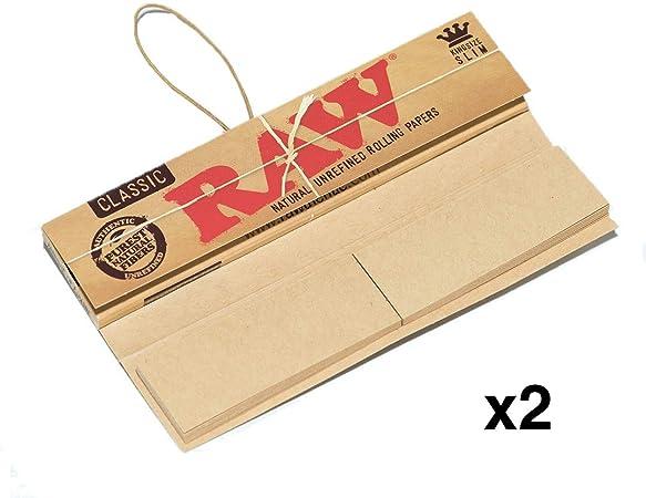 THE BOAT Kit para Fumar - Bandeja para Liar Rick and Morty 27,5cm x 17,5cm + Raw Papel de Liar Kings Size (2 Unidades) + Grinder metálico 4 Partes con rascador -
