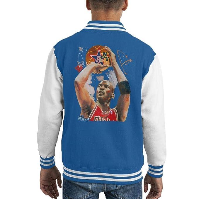 VINTRO Chaqueta del Equipo Universitario de Michael Jordan ...