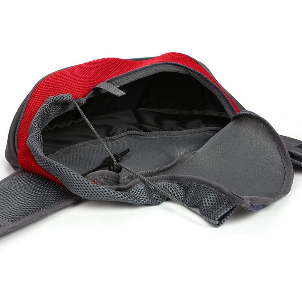 Easong Fashion Dog One Shoulder Bags Cat Pet Out Package Pet Dog Hangbag Bag Tote Travel Portable Slung Breathable Mesh Pet Backpack Foldable Practical Pockets Reinforced Shoulder Adjustable Straps