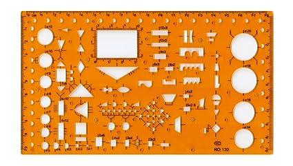 amazon com drafting templates electronic symbols template