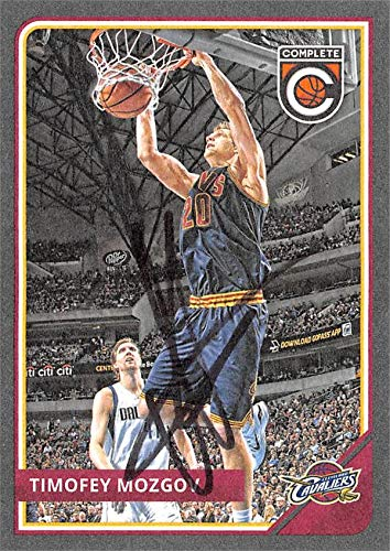 28ec4fcba004 Amazon.com  Timofey Mozgov autographed Basketball Card (Cleveland Cavaliers)  2015 Panini Compete Silver  125 - Unsigned Basketball Cards  Sports ...