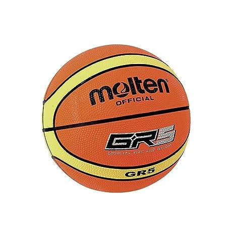 Balón de baloncesto Molten BGR5 Mini, talla única.: Amazon.es ...