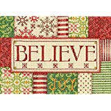 Dimensions Crafts Needlecrafts Counted Cross Stitch Kit, Believe
