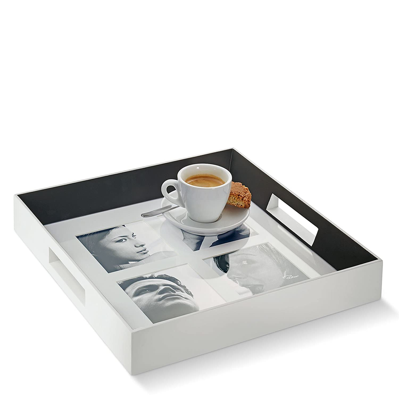 Amazon.de: Philippi Family Fototablett, Holz, Weiß, 30 x 30 x 4.5 cm