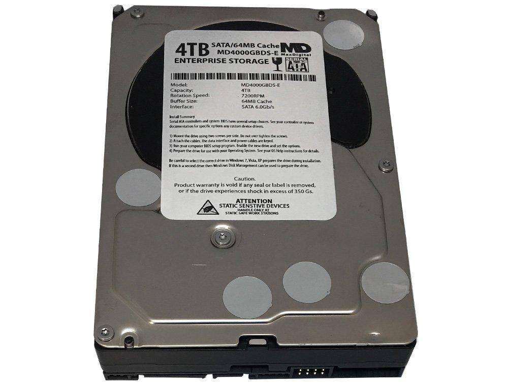 MaxDigital 4TB 7200RPM 64MB Cache SATA III 6.0Gb/s (Enterprise Storage) 3.5'' Internal Hard Drive w/2 Year Warranty by MaxDigital (Image #3)