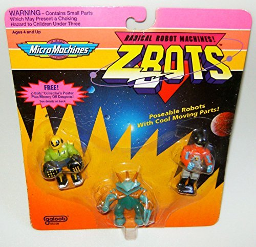 Micro Machines ZBots (Z-bots) 3 Pack #17 for sale  Delivered anywhere in USA