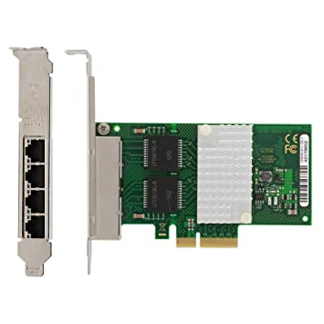 Tarjeta de red i350-T4 Adaptador de servidor de red Gigabit ...