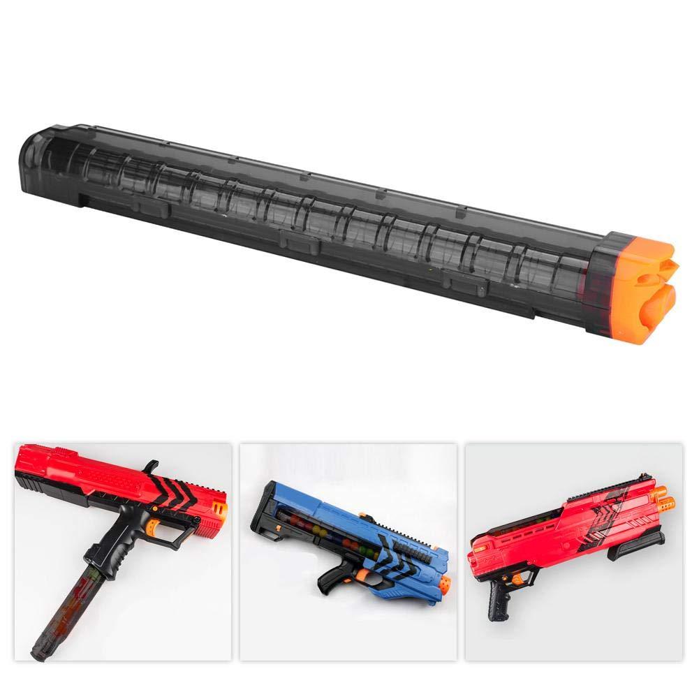 Tbest Clip de Bala Suave Magazine Revista 12-Round,12-Darts Clip de Revista Bullet Clip Holder Quick Pull Box Accesorios de Pistola Zeus Toy Rival ...