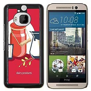 Dragon Case - FOR HTC One M9+ / M9 PLUS - I'm afraid to cherish - Caja protectora de pl??stico duro de la cubierta Dise?¡Ào Slim Fit