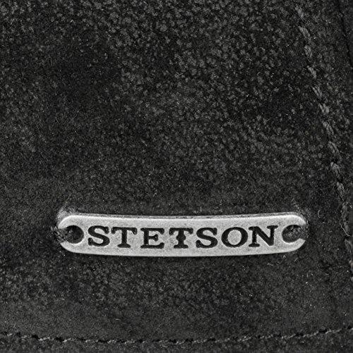 L´hiver Noir Printemps Cuir Pour Avec Gatsby Stetson Texas Casquette Pig Visiere Homme Doublure ete Casquettes En Skin 8Swa641