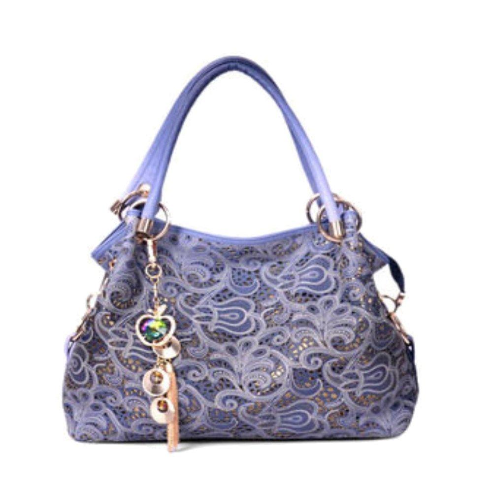 Walcy PUレザーヨーロッパアメリカスタイルの女性用ハンドバッグ、DumplingsタイプCommuter Bag hb880029  C4 B01GOD20G8