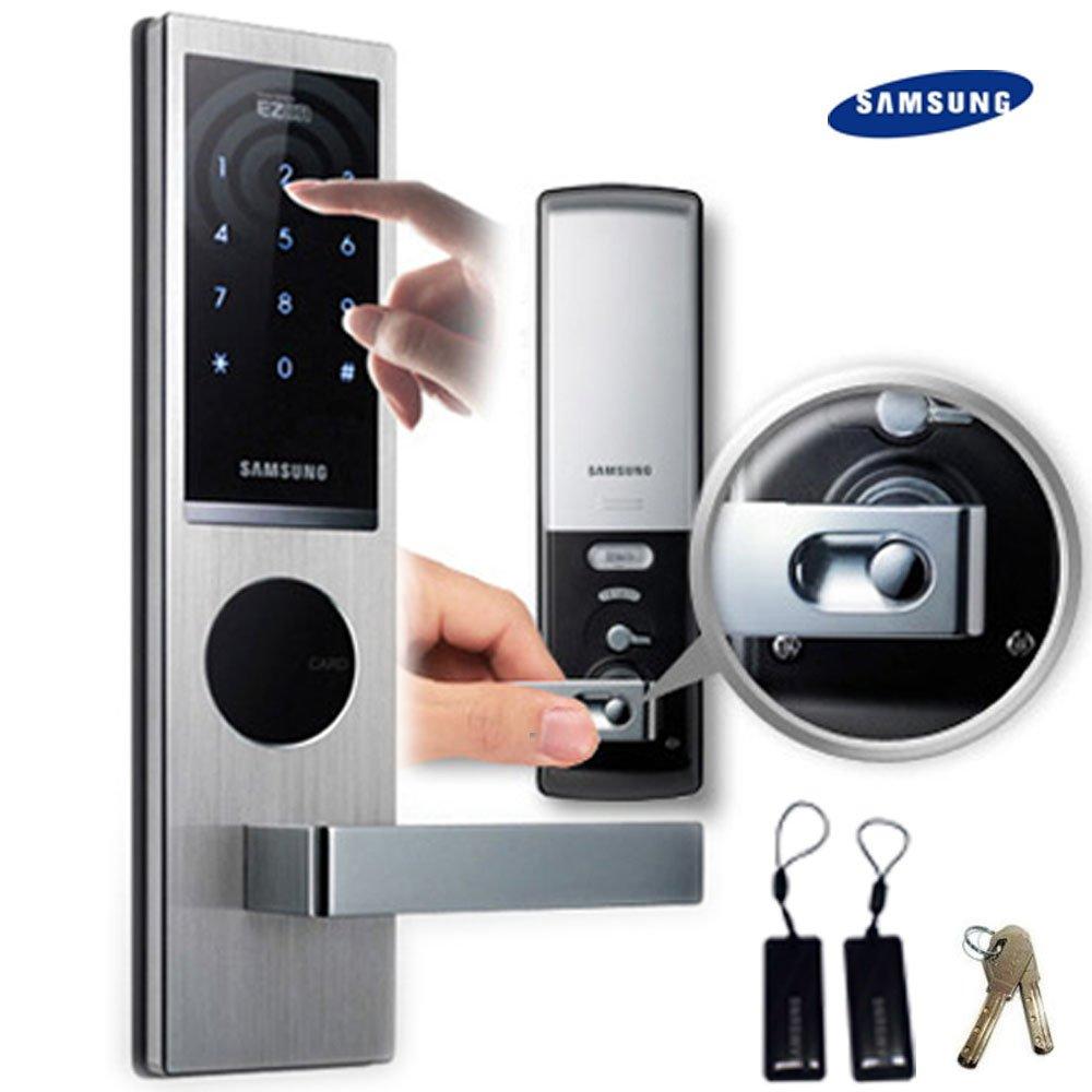 SAMSUNG SHS - 6020 Digitales Türschloss schlüsselloses touchpad EZON thumbnail