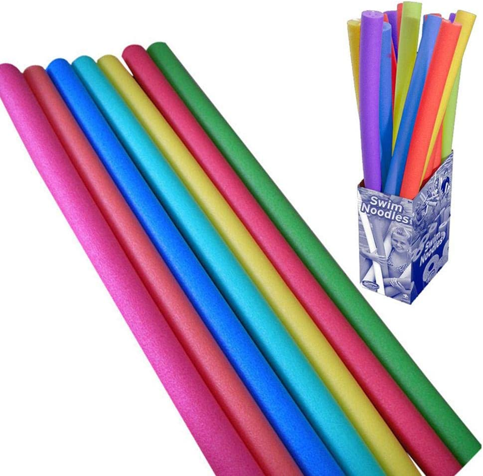 Pool Noodle Stick Colorful Foam Swimming Pool Noodle Float Aid Woggle Logs Noodles Thick Foam Swimming Float Aid For Water Sports And Relaxing Strong And Flexible