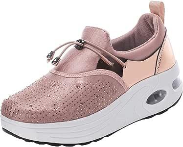 Luckycat Zapatillas Deportivas de Mujer Gimnasio Zapatos Running ...