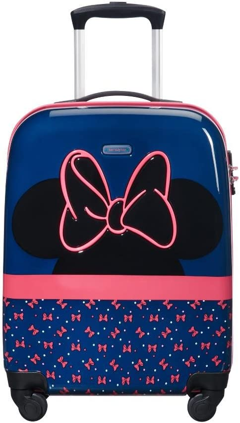 Samsonite Disney Ultimate 2.0 Spinner 55/20 2.6 KG Equipaje Infantil, S (54.5 cm 33 L), Azul (Minnie Neon)