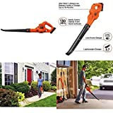 Cordless Leaf Blower Lawn Yard Sweeper Battery Powered Operated With Charger New ✅