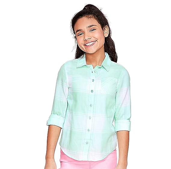 Justice Girls Button Up Shirt