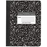 "Roaring Spring Hard Cover Composition Book, 9 3/4"" x 7 1/2"", Graph Ruled, 80 sheets"