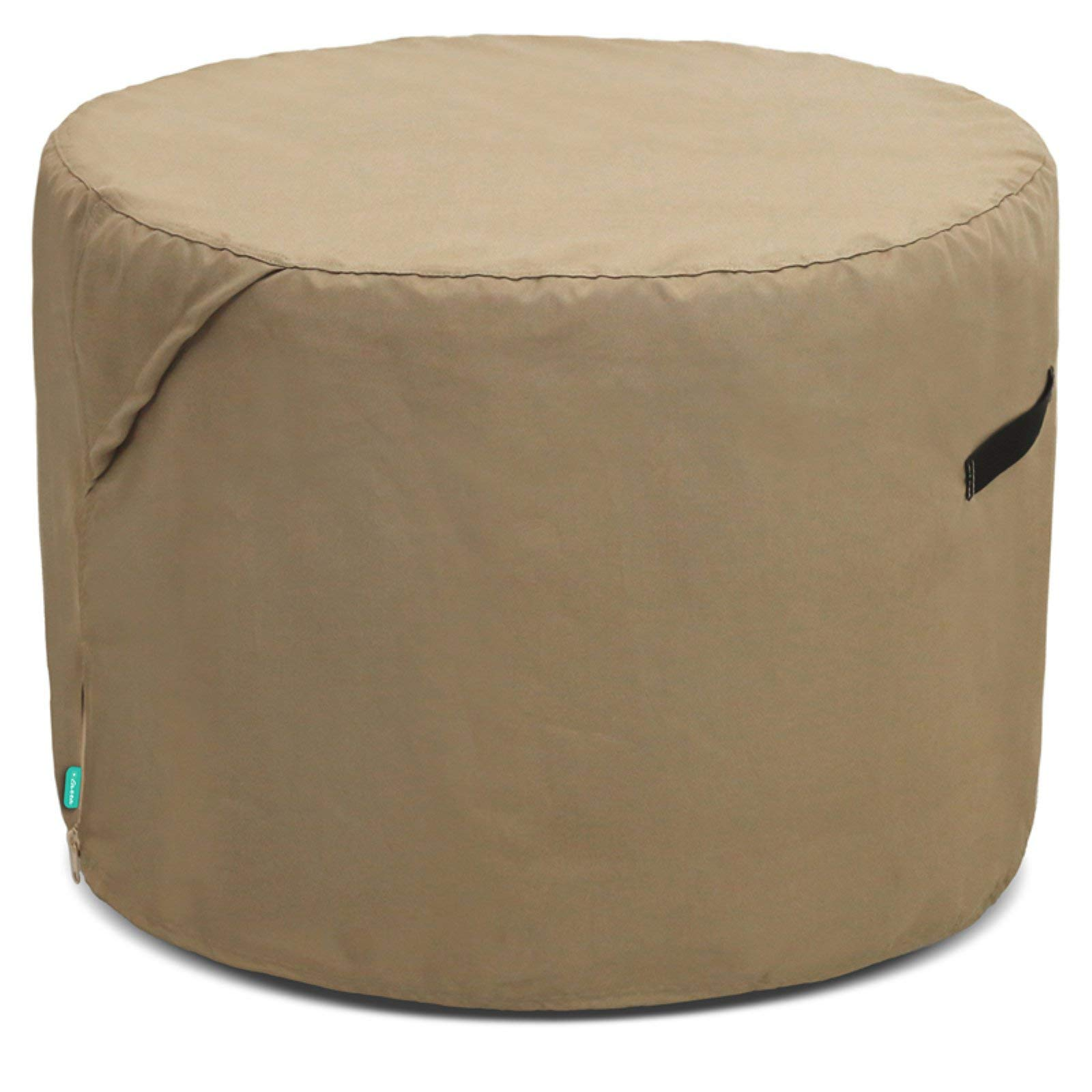 OKSLO Universal outdoor ufcoz2625pt patio round ottoman cover
