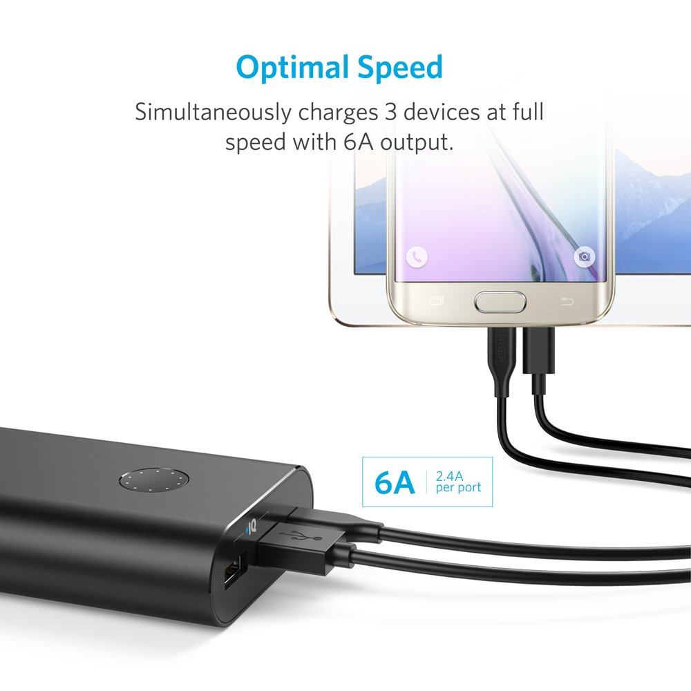 Anker PowerCore+ 20100 USB-C, Ultra-High Capacity Premium Portable Charger