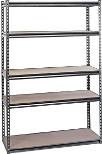 Heavy Duty Steel Shelving Unit - Five Shelves (L1220 X W450 X H1830mm)