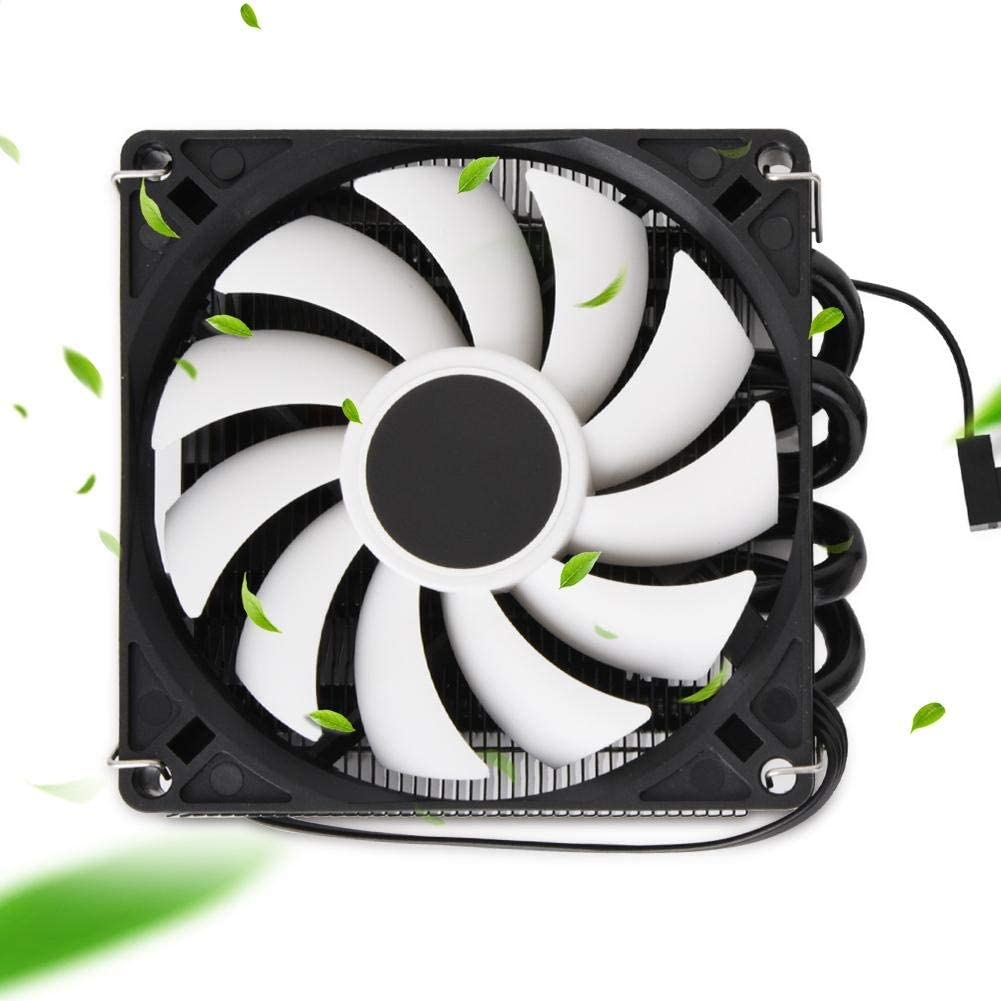 Yoidesu CPU Cooling Fan,Premium CPU Cooler with 4 IS-40 Heatpipes,CPU Air Cooler,Radiator Fan