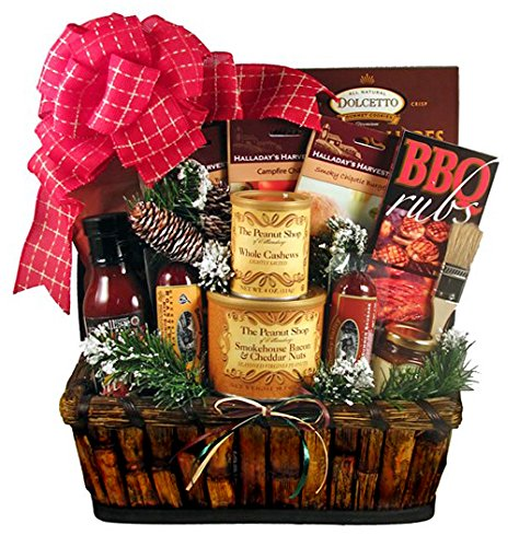 BBQ Holiday Gift Basket for Men - Size Large by Gifts to Impress