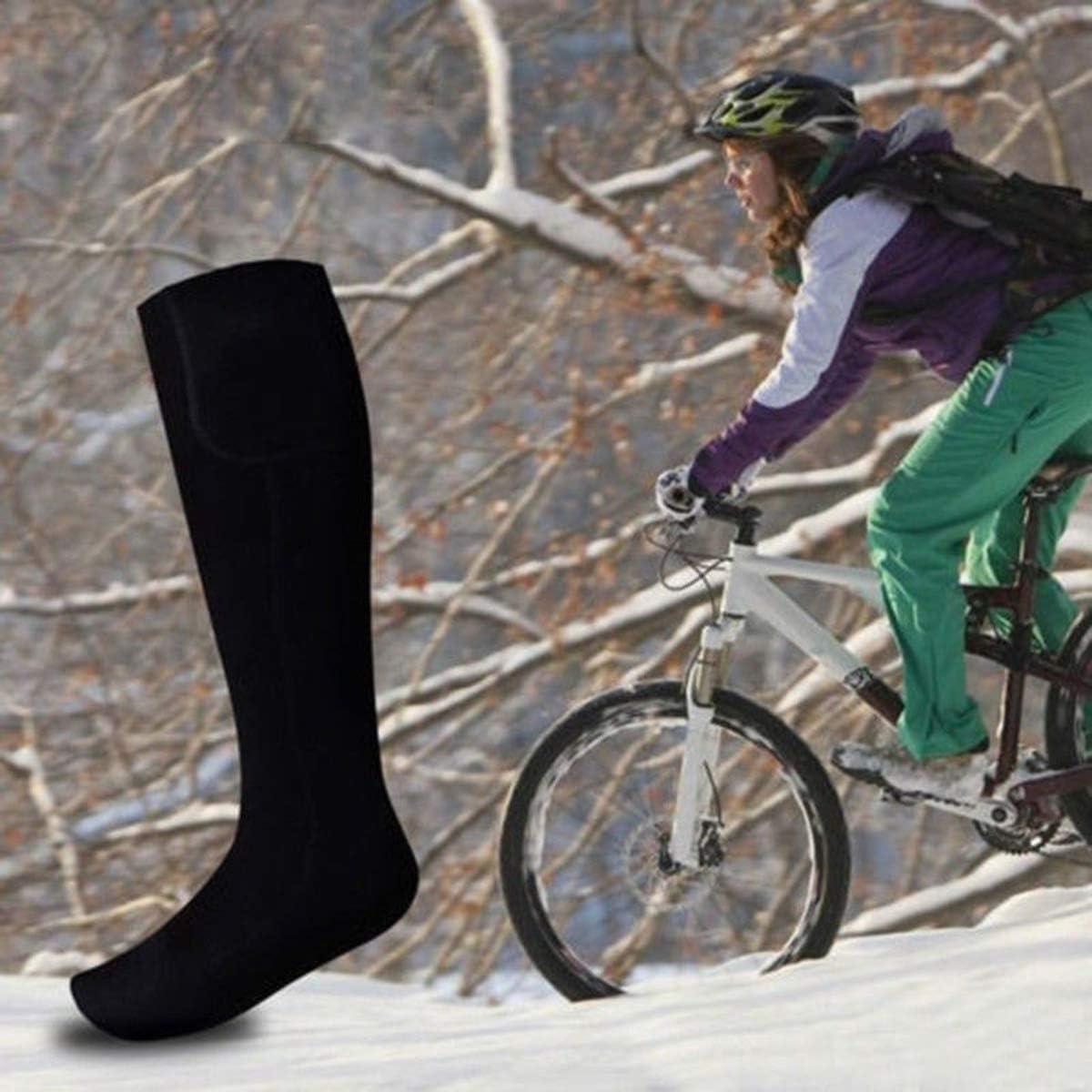 SOONHUA Beheizte Socken Elektrische Wiederaufladbare Batterie Heizsocken f/ür M/änner Frauen Winter Ski Jagd Camping Wandern Reiten Motorrad Warme Baumwollsocken Fu/ßw/ärmer