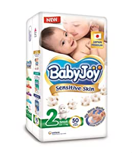 Baby Joy Diappers, Premium Size 2-50 Diappers
