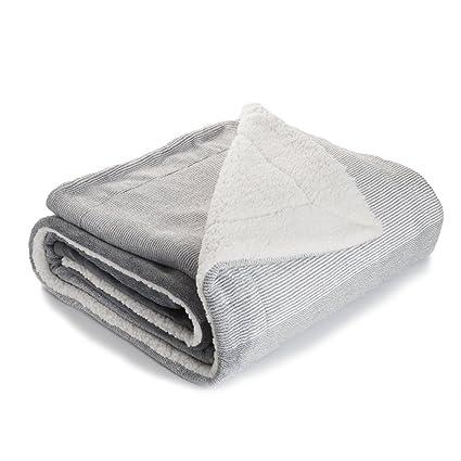 Amazon Bedsure Sherpa Throw Blankets Gradient Grey Twin Size Enchanting Bedsure Sherpa Blanket Throw Blankets