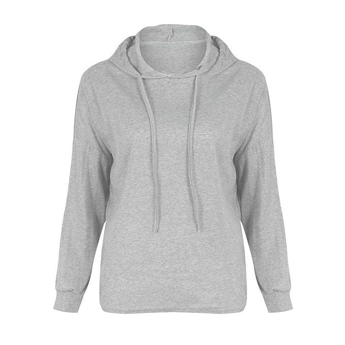 9045a42ccda9 EFINNY Women Pull Over Henly Tops Women Plus Velvet Pullover Sweater ...