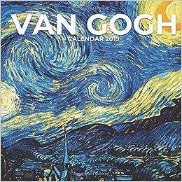 Van Gogh Calendar 2019: Mini Wall Calendar Vincent Van Gogh Paintings 12 Month Calendar Planner por Artistry Isle
