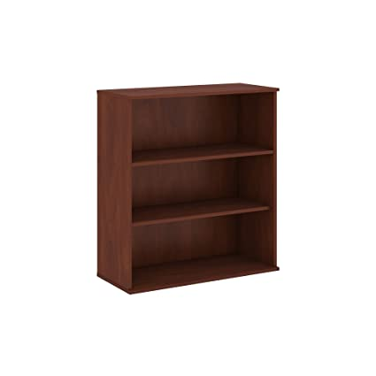 Bush Business Furniture 48H 3 Shelf Bookcase In Hansen Cherry