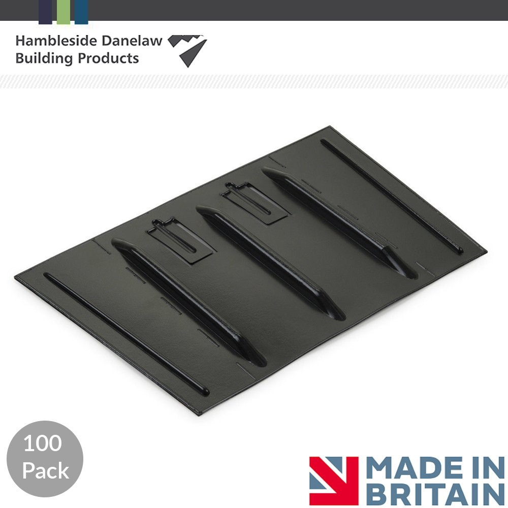 Danelaw Felt Lap Vent | Roof Loft Ventilation | Cures Condensation | Various Pack Quantities | 20 Hambleside Danelaw Ltd