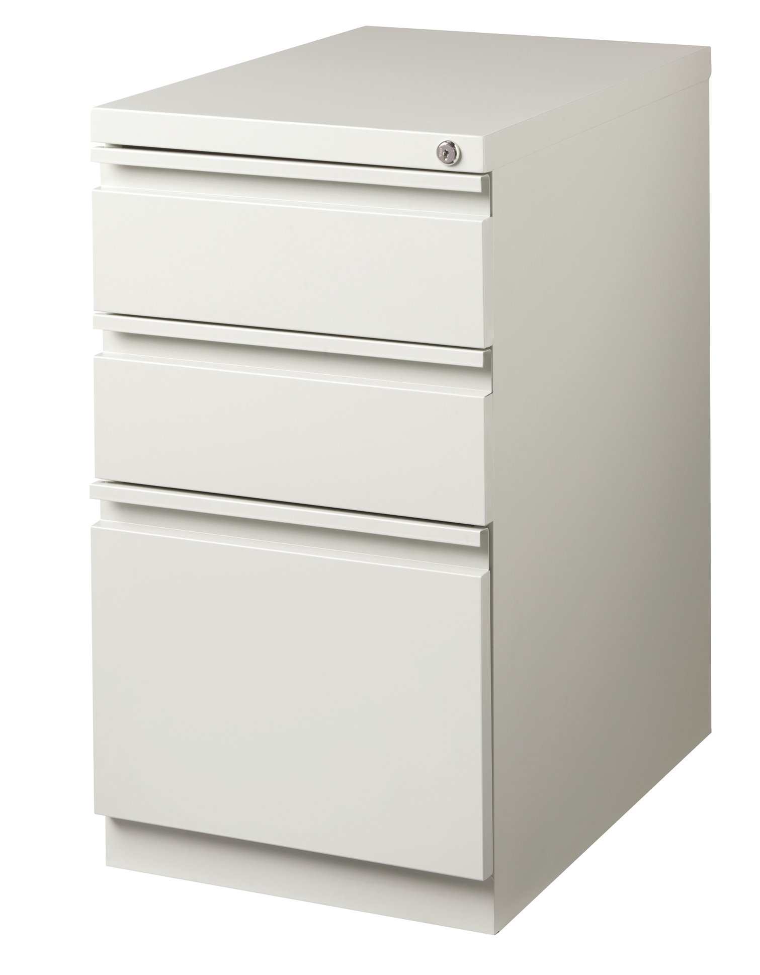 Office Dimensions 20'' File Cabinet w/ Concealed Wheels, 2 Storage Drawer and 1 File Drawer