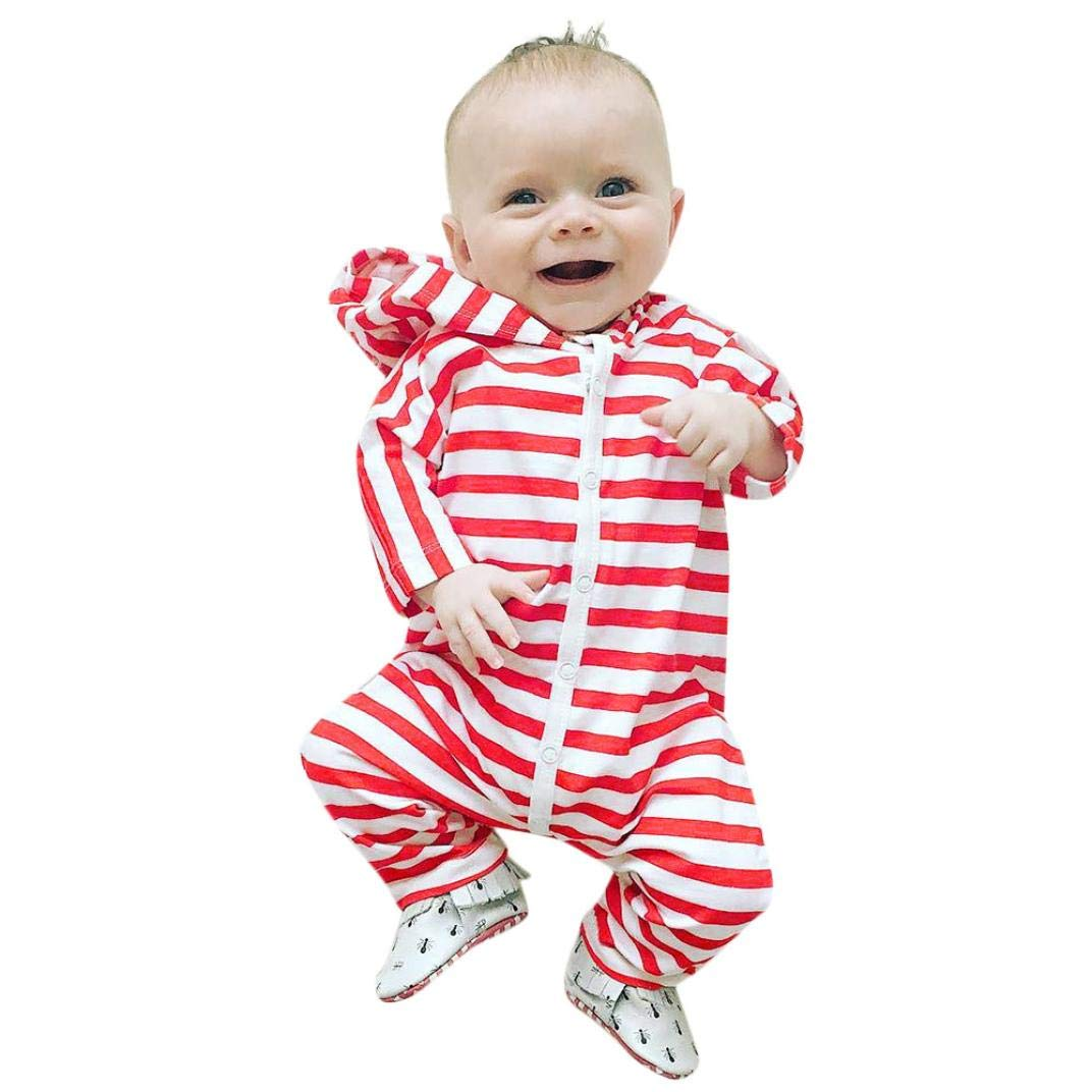 ddc56d25282a Amazon.com  Winter Jumpsuit Toddler Baby Boys Girls Long Sleeve ...