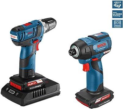 Pack 2 máquinas Bosch GSR 10,8V-EC + GDR 10,8V-EC de inducción 06019E0004: Amazon.es: Bricolaje y herramientas