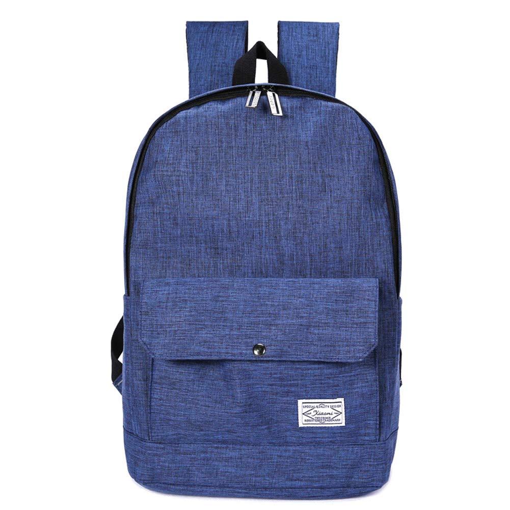 GMYANSJB Fashion Teenager Schoolbag Uomo Donna Canvas Backpack Borse da Viaggio Weekend