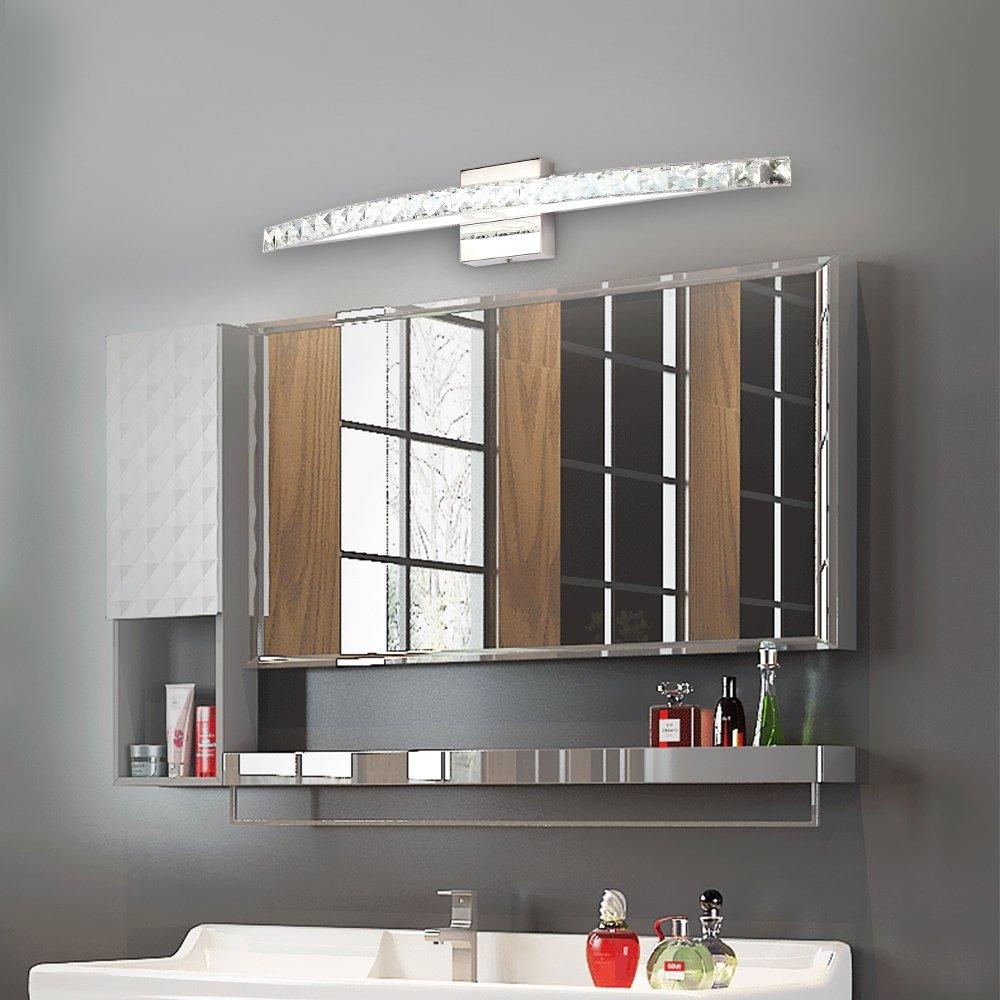 BANBUM Vanity Light 27.56 In 18W 6000K Daylight White LED Vanity Light crystal light fixture by BANBUM (Image #6)