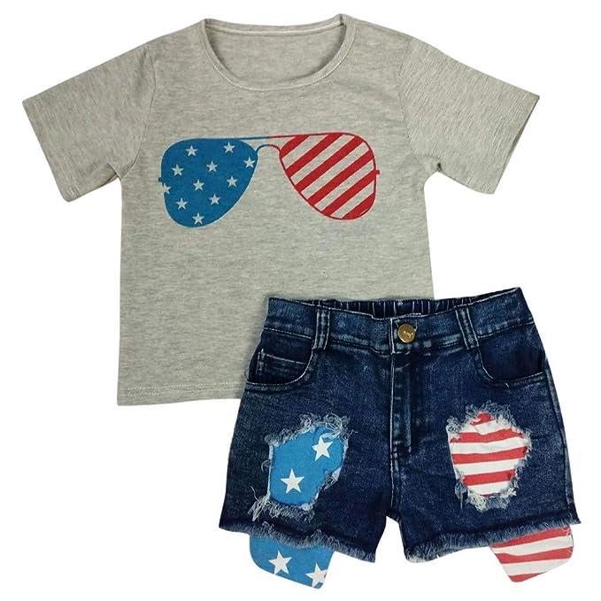 Amazon.com: Fabal - Conjunto de pantalones cortos vaqueros ...