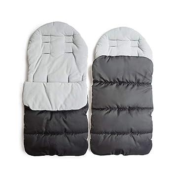 Mhoyi Winterfusssack Universal Kinderwagen Fußsack Winter Baby Warm Schlafsack Buggy Fleece Sack Kinderwagensack Geeignet Für 0 36 Babys Baby