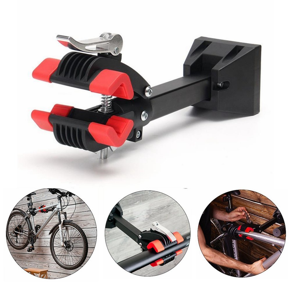 MAMS Outdoor Wall Mount Heavy Duty Bike Bicycle Maintenance Mechanic Repair Cycling Folding Clamp MTB Wall Mount Repair Stand
