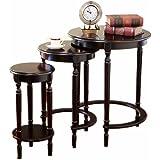 Amazon Com Frenchi Home Furnishing Round Nesting Table 2