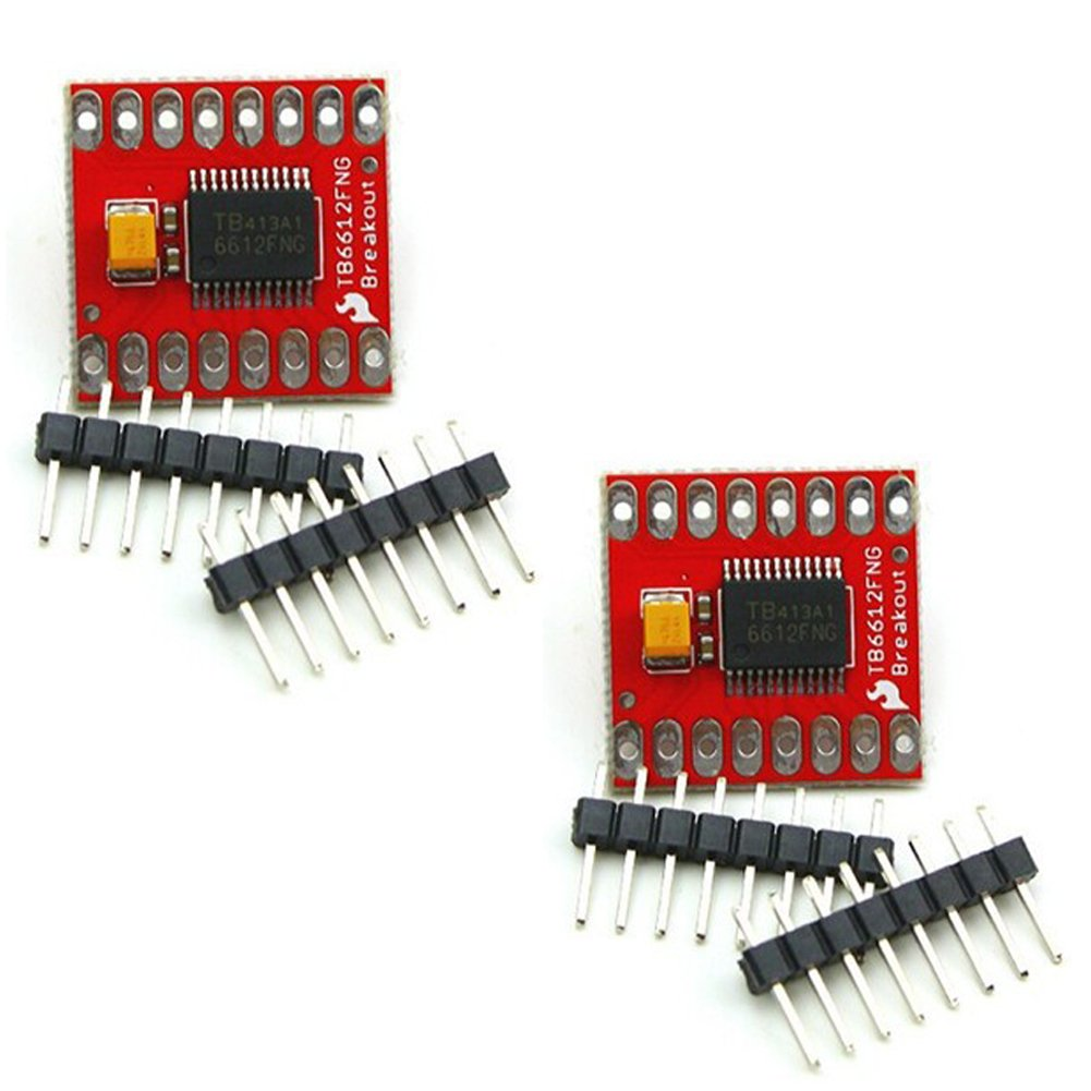CTYRZCH 2 Pcs TB6612FNG Motor Driver Module for Arduino UNO&MEGA/raspberry  pi/AVR/STM32