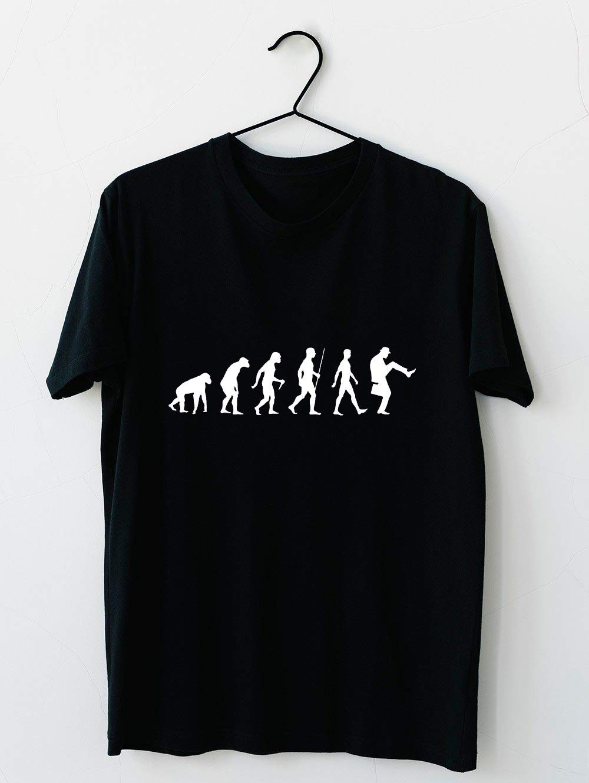 Evolution Of Man Version T Shirt For Unisex