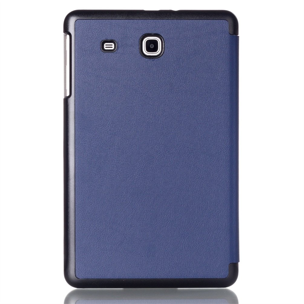 Samsung Galaxy Tab E 9.6 Cover,Samsung Tab E 9.6 Leather Case,Flip Cover for Galaxy Tab E 9.6 T560 Protective Case with Multiple Viewing Angles,auto Sleep//Wake-Dark Blue