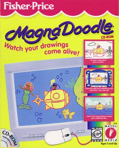 Fisher Price- Magna Doodle CD-ROM (Jewel Case)